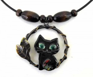 Black Cat pendant
