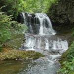 Heiwa-no-taki Falls, the foot of Mt.Teine in Sapporo