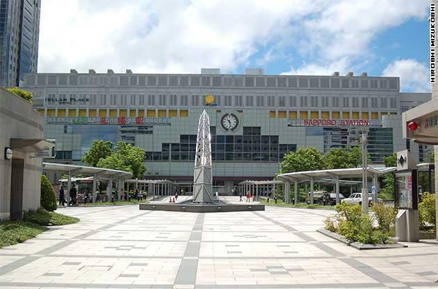 Sapporo Station Area for Sightseeing and Shopping