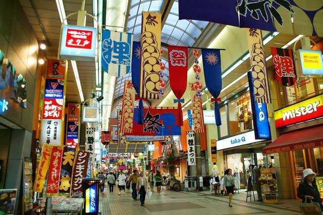 Tanukikoji Shopping Arcade, The oldest shopping mall in Sapporo