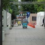 Corns' Wagon in the Odori Koen Park, Sapporo (大通公園とうきびワゴン)