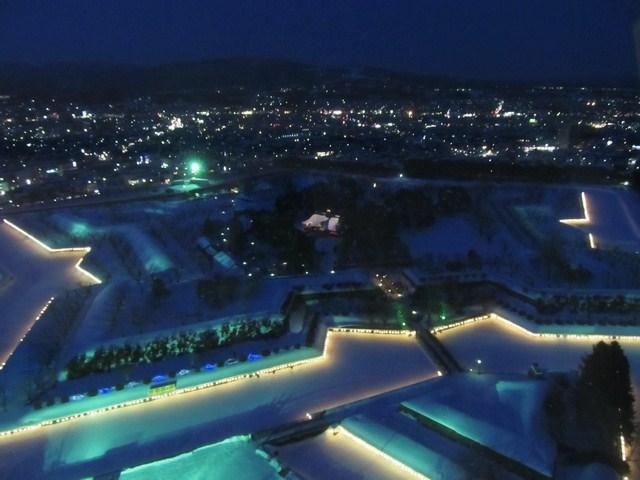 The Star Illumination of Goryokaku [Nov, 29 – Feb, 28 2015]