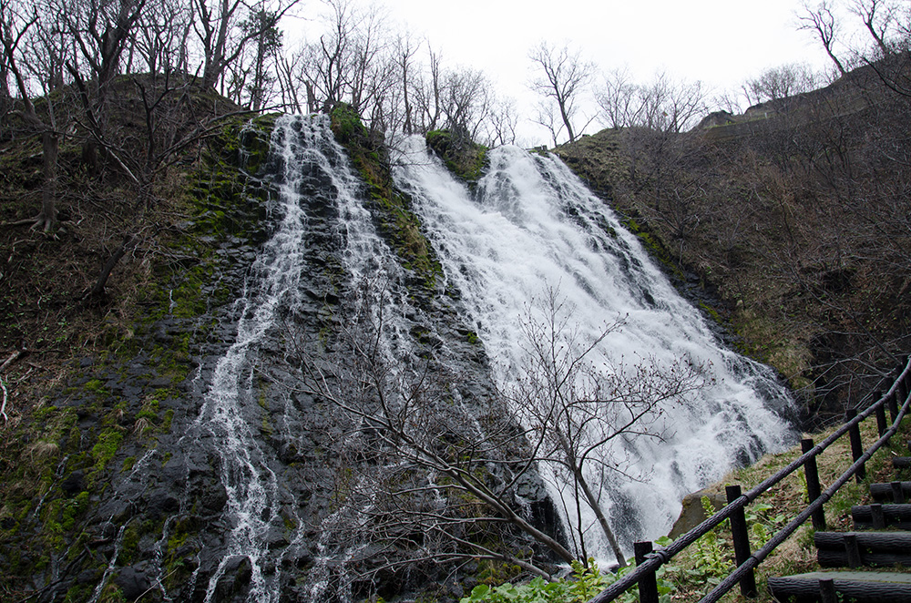 Oshinkoshin-no-taki Waterfall in Shiretoko