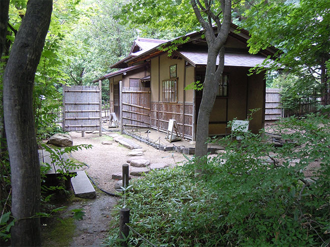 Hassoan, Why Does Hassoan Stand here? One of the tea-ceremony/Chanoyu house by Kobori Enshu