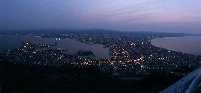 From Mt.Hakodate-yama