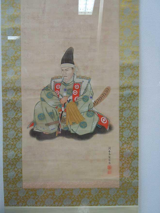 A portrait of the 17th daimyo, Munehiro Matsumae