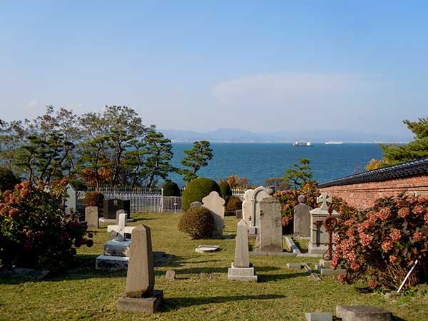 Foreigners' Cemetery in Hakodate