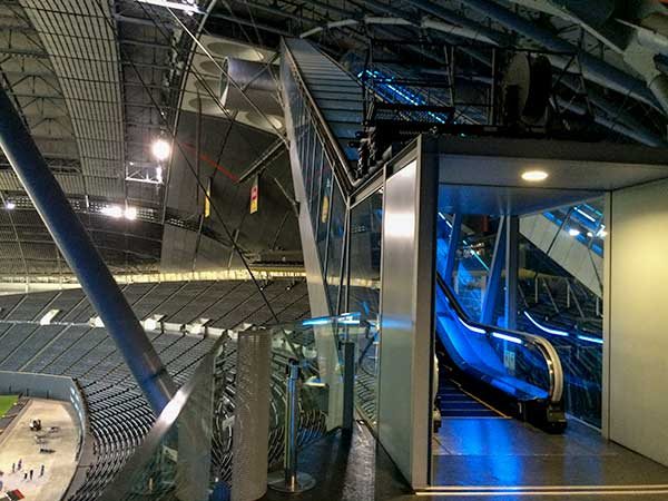 Sapporo Dome Tour & Observation Platform
