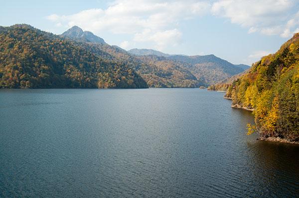 Lake Sapporo / Jozankei Dam