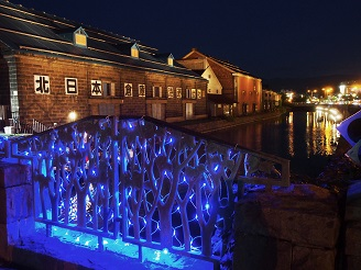 Blue Canal in Otaru [Dec, 1 – 25]