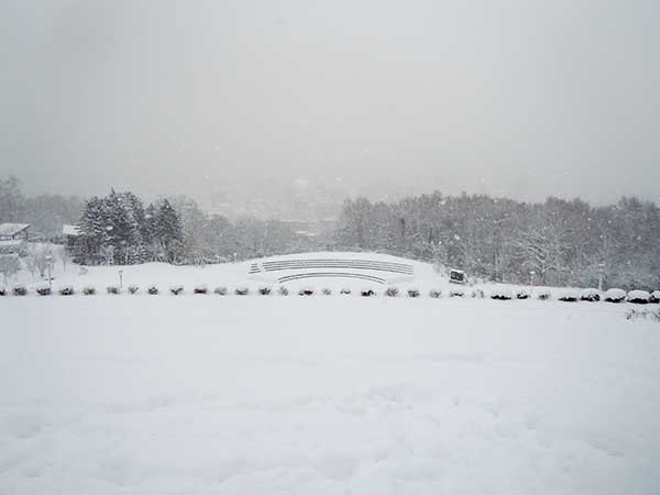 Heavy Snow in Sapporo in the middle of November
