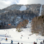 Sapporo Kokusai Ski Area is thronged with skiers and snowboarders
