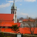 Motomachi Roman Catholic Church in Hakodate Motomachi Area(函館元町カトリック教会)