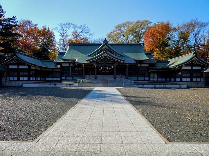 Sapporo Gokoku Jinjya [Shrine]