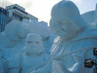 Star Wars Episode VII – The Force Awakens in Sapporo Snow Festival 2015