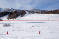 Kitanomine Ski Area in Furano, Kitanomine Zone of Furano Ski Area