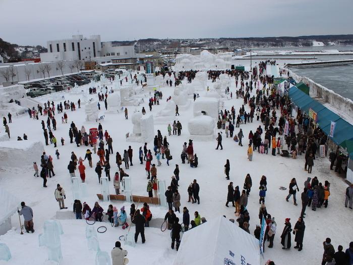 Abashiri Okhotsk Drift Ice Festival 2015