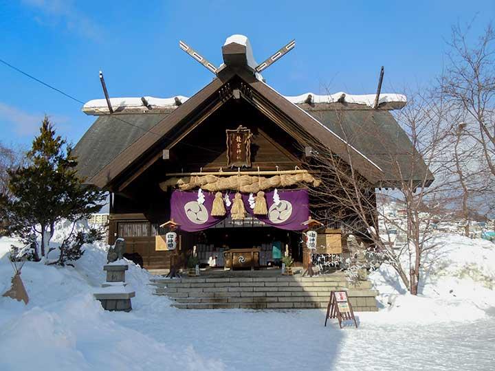 Ryugu Jinjya Shrine, Otaru