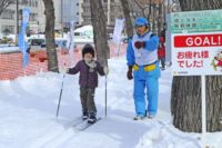 Experience Skiing in Sapporo Snow Festival 2015