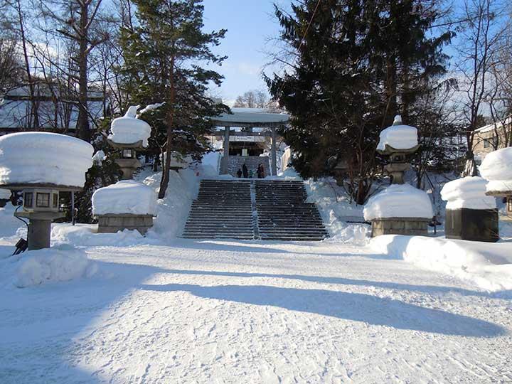 Sumiyoshi Jinjya Shrine, Otaru