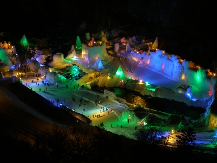 Sounkyo Ice Festival 2015
