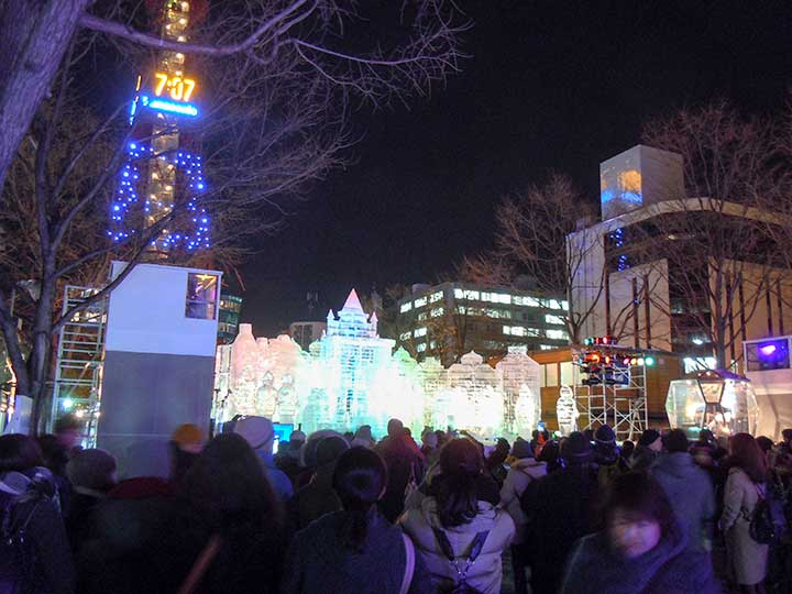 Feb 8: Event Schedule of Sapporo Snow Festival 2015