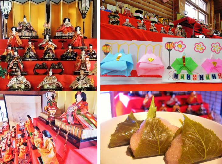 Hina Doll Festival Tour 2015 in Historical Village of Hokkaido