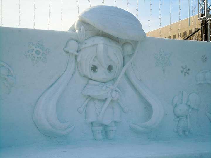 Snow Miku in Odori 10 Chome