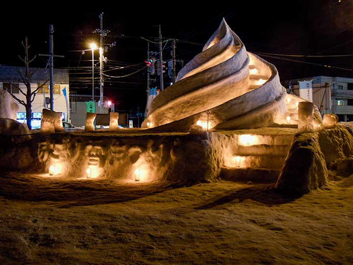 Otaru Snow Light Path 40 venues in 2015