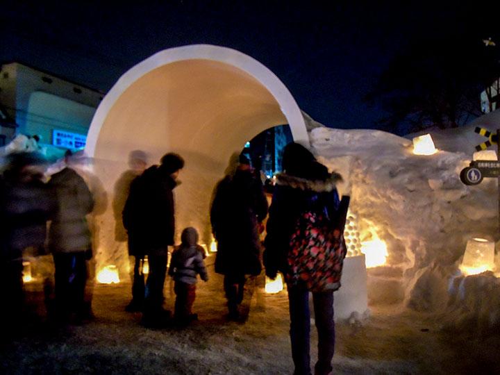 Otaru Snow Light Path 2015