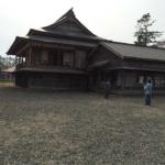 Ryu-unkaku(龍雲閣) in Shizunai, opened in Sakura Festival