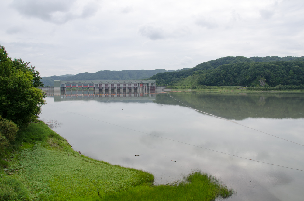 Nibutani Dam and Historical Museum of the Sarugawa River