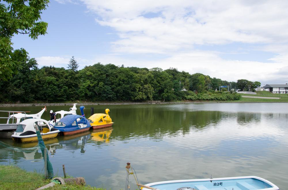 Tsurunuma Park in Urausu
