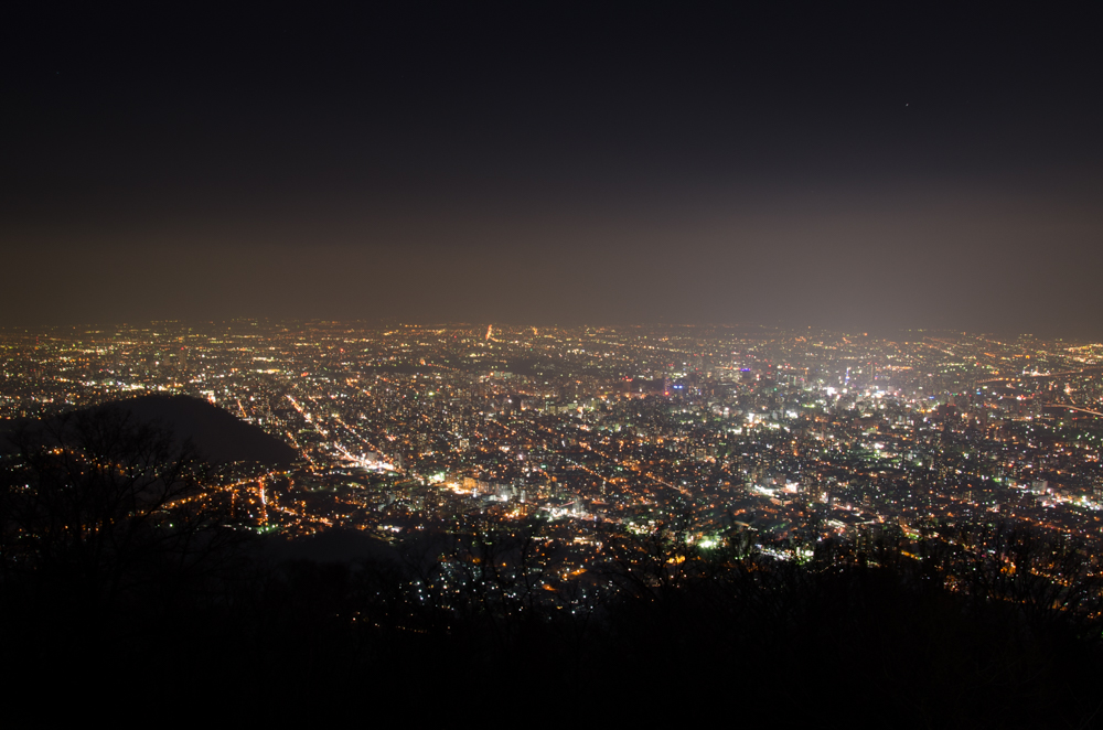 Enjoy Sapporo Night View, Moiwayama, Mt.Moiwa