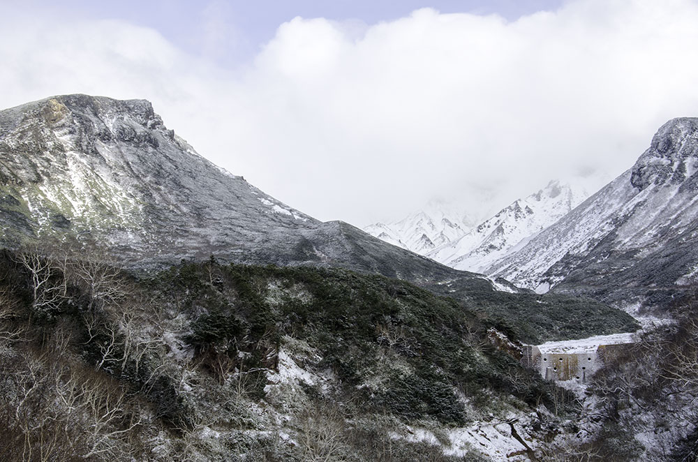 Backcountry Ski in Mt.Tokachidake Range