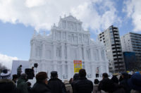 Sapporo Snow Festival, the biggest festival in winter