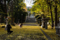 Shichi-Go-San, Sumiyoshi Shrine in Minami Otaru