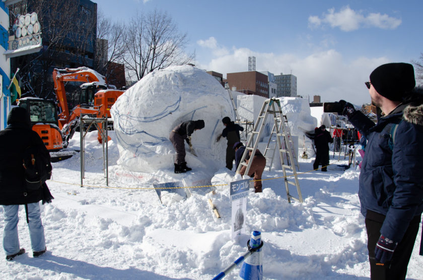 International Snow Statue Competition