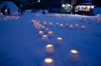 Snow Lights In Nakajima Park